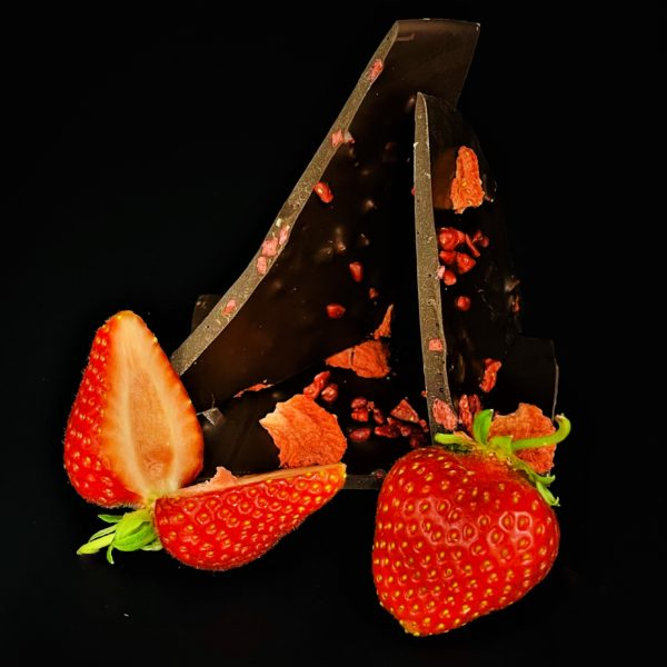 Zartbitter Erdbeer