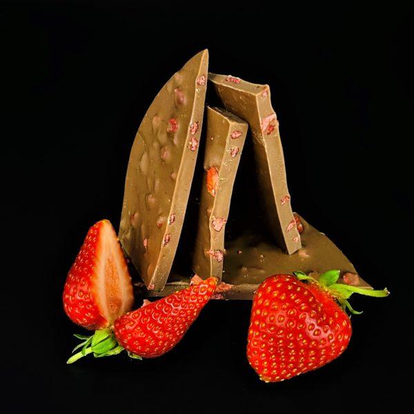 Vollmilch Erdbeer